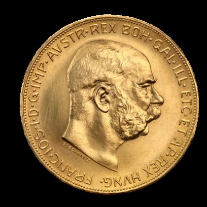 100 Corona Franz-Joseph Real Austria Gold Coin