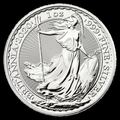 1oz Britannia Silver Coin