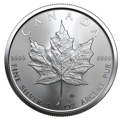 1oz Silver Maple Leaf Coin Mixed Years